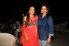 Amar Singh Hosted A Party At  Lazy Dog Restaurant