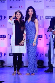 Deepika Padukone and Irrfan Khan At Launch Of Piku Melange Collection