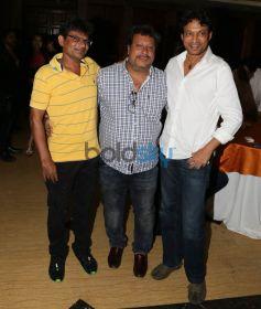 Irrfan Khan & Tigmanshu Dhulia Celebrate Irshad Khans Bumper Draw completion At Levo