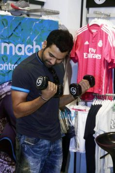 Rohit Sharma Unveils Adidas Climachill