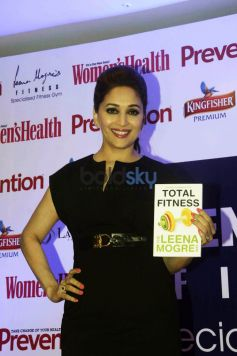 Madhuri Dixit Launched Leena Mogre Book Total Fitness