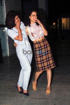 Priyanka Chopra And Kangana Ranaut