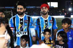 Ranbir Kapoor And Abhishek Bacchan