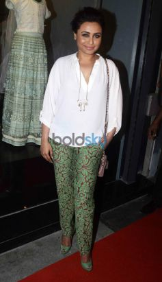 Rani Mukerji At The Launch Of Amy Billimoria House Of Design store