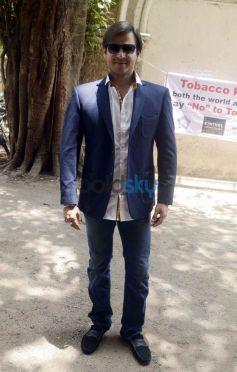 Raveena Tandon And Vivek Oberoi Launch Tobacco Free Mumbai Police Station
