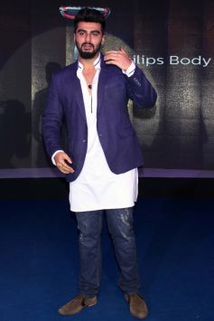 Arjun Kapoor At The Launch Of New Body Grooming Solutions By Philips
