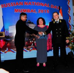 Celebration Of Russian National Day In Mumbai
