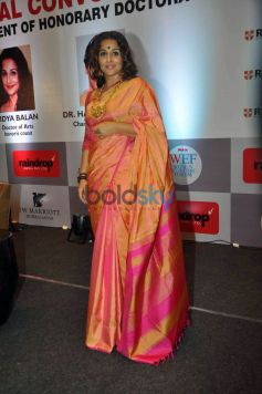 Vidya Balan Conferred With A Doctor Of Arts Honoris Causa