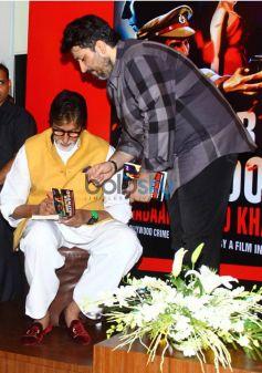Amitabh Bachchan Launches Amjad Khan's Son Shadab's Book