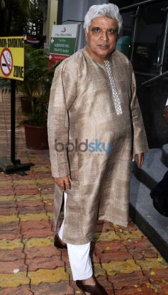 Arjun kapoor And Javed Akhtar At The Book Launch Of ME MIA MULTIPLE