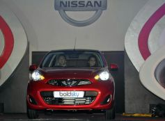 Kangana At The Launch Of Nissan Micra X-Shift