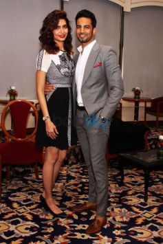 Karishma Tanna And Upen Patel At Star Plus Meet And Greet Event In New Delhi