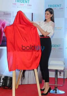 Kriti Sanon Launches Trident Group New Bath & Home Linen Collection
