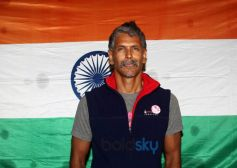 Milind Soman Returns India After Winning Iron Man Award