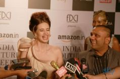 Press Conference Of Gaurav Gupta And Kalki Koechlin