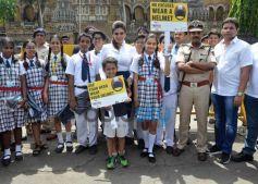 Raveena Tandon Spreads Awareness On Using Helmet
