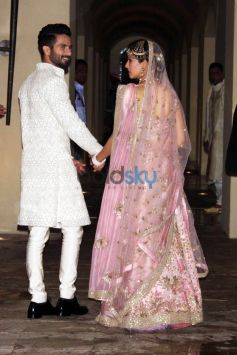 Shahid Kapoor Weds Meera Rajput In New Delhi