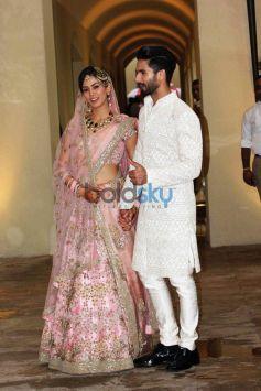 Shahid Kapoor Weds Meera Rajput In New Delhi