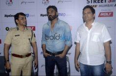 Sunil Shetty Spreads Awareness On Using Helmet