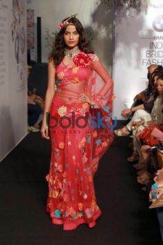 Akshara Haasan For Rina Dhaka Show At IBFW 2015