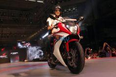Akshay Kumar And Taapsee Pannu At Launch Of Honda CBR 650