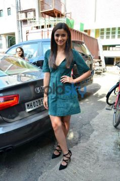 Alia Bhatt At Girl Rising Media Meet