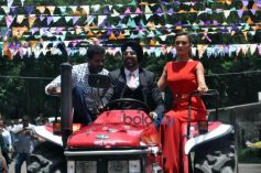 Amy Jackson At Singh Is Bling Trailer Launch