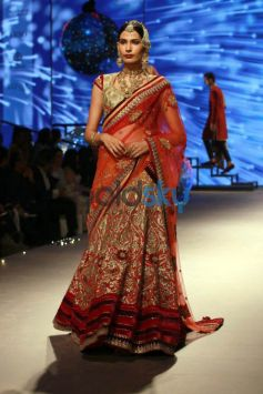 Designer Tharun Tahiliani Show At IBFW 2015