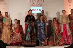 Top Fashion Designers Showcased The Best Of Creations At Press Preview Of Runway Bridal
