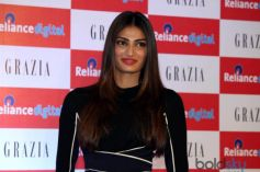 Athiya Shetty At Reliance Digital To Launch Cover Of Grazia