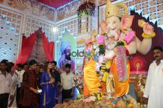Calendar Girls Visit Andhericha Raja Ganpati