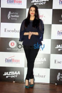 Jazbaa Song Launch By Aishwarya Rai And Cast