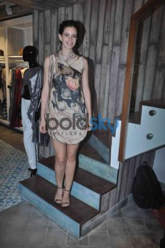 Kalki Koechlin & Suniel Shetty At The Launch Of 'Kashish InFiore' Store