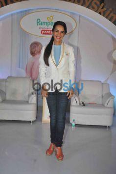 Mandira And Tara Sharma At Pampers Event