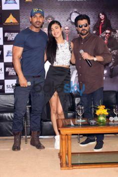 Media Meet Of 'Welcome Back' In Delhi
