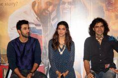 Ranbir And Deepika At First Look Launch Of Tamasha