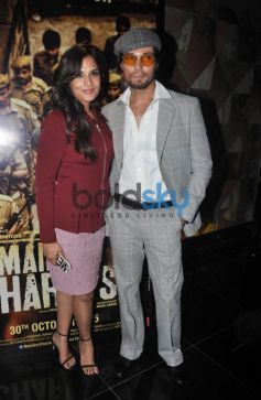 Randeep Hooda And Richa Chadda At The Trailer Launch Of 'Main Aur Charles'