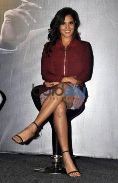 Randeep Hooda And Richa Chadda At The Trailer Launch Of 'Main Aur Charles'