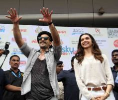 Ranveer Singh & Deepika Padukone Unveil The 'Gajanana' Song