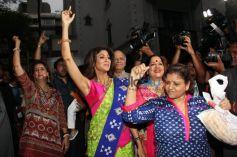 Shilpa And Raj Kundra's At Ganesha Visarjan