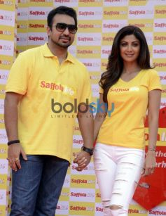 Shilpa Shetty,Raj Kundra Participate World Heart Day