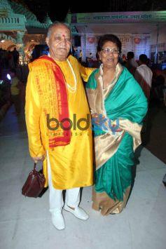 Shilpa Shetty Visits Andheri Cha Raja