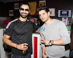 Sooraj Pancholi & Athiya Shetty Promote 'Hero' At Gold's Gym