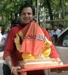 Vivek Oberoi's Ganesha Celebrations