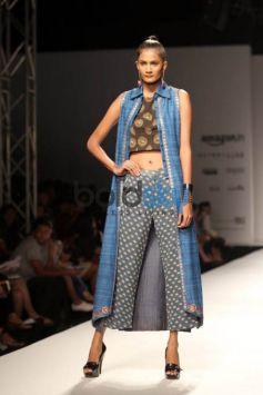 Designer Ashish, Viral And Vikrant Show At AIFW