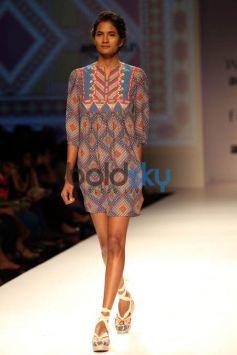 Designer Tanvi Kedia & Rasa Jaipur Show At AIFW