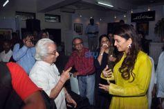 Juhi Chawla Graces JP Singhal's Exhibition At JJ Institute