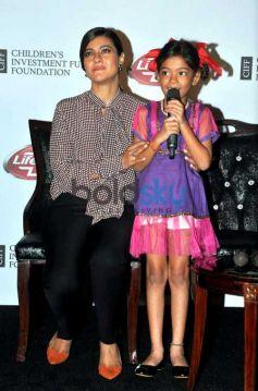 Kajol At Lifebuoy Event For Girl Child