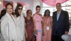 Malaika Arora And Lisa Ray Attend Indian Breast Cancer Survivors Conference