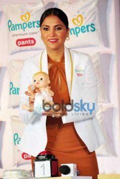 Mandira Bedi And Lara Dutta Launch Pampers Premium Care Pants